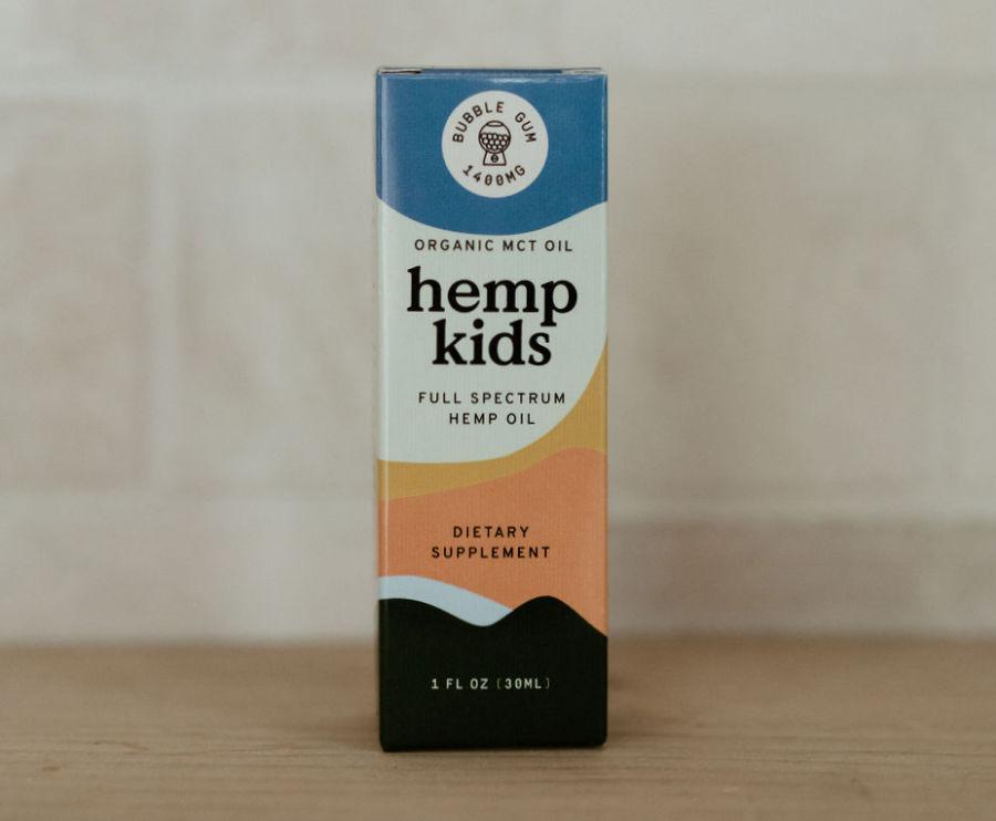 Hemp Kids Natural Bubblegum flavor 1400mg