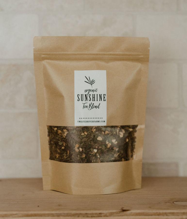 Sunshine Organic Tea Blend (6-8% CBD)
